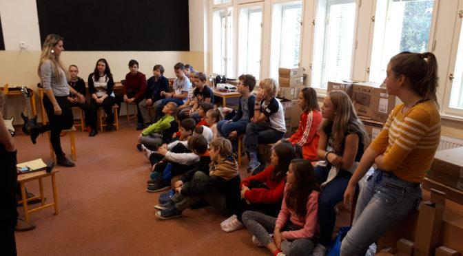 Kapela ve škole – závěrečné vystoupení