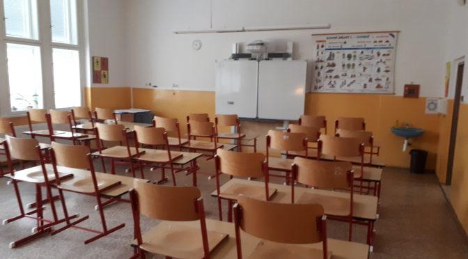 Škola opět uzavřena pro prezenční výuku